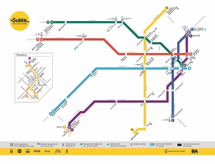 La red de subtes de la Ciudad quedó operativa con la reapertura de 10 estaciones