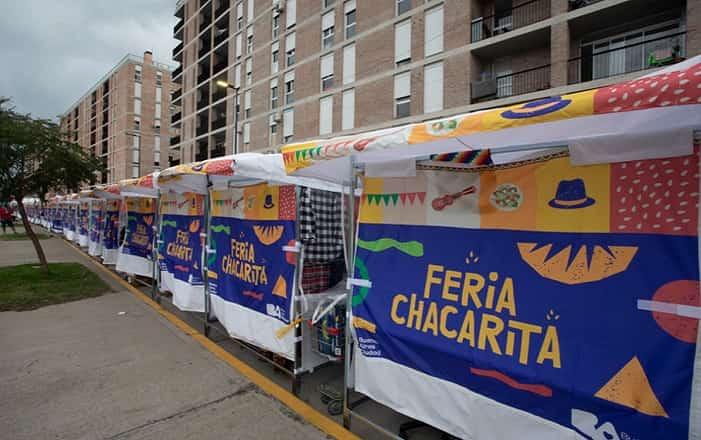Nueva feria en el Barrio Fraga de Chacarita